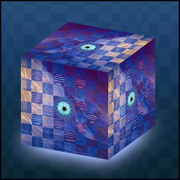 Damier en cube