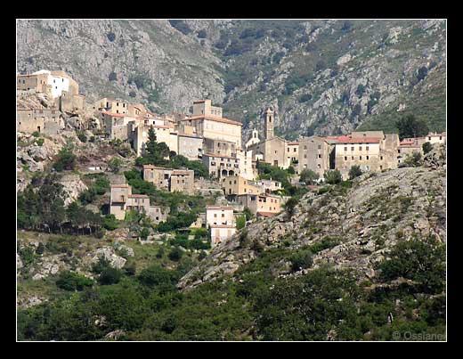 Le village de Speluncato en Balagne