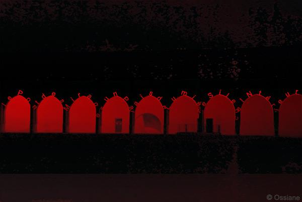 Le pont des mirages, un palais de lumière, silence intérieur
