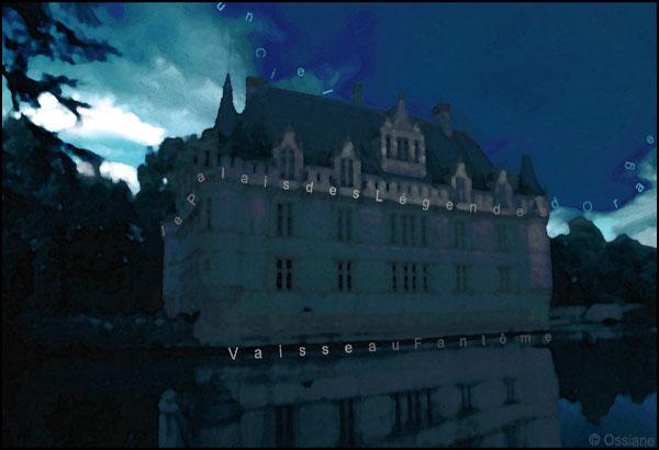 Un ciel d'orage, le palais des légendes, vaisseau fantôme