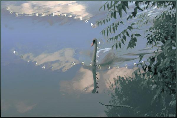 Souffle silencieux, sur l'aile des nuages, tu t'approches