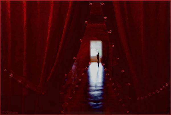 Rideaux de velours, inconnue de passage, l'ombre d'un regard