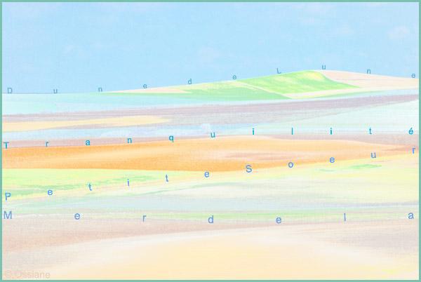 Dune de lune, mer de la tranquilité, petite soeur