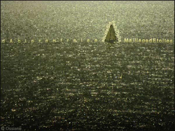 D'acier en iroise, sous le signe du delta, maillage d'étoiles