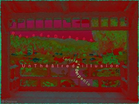 Rêve de dragon, un théâtre d'illusion, la rivière serpente