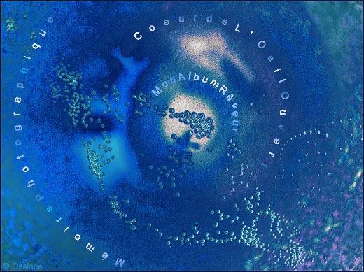 Coeur de L'Oeil Ouvert, mémoire photographique, mon album rêveur.