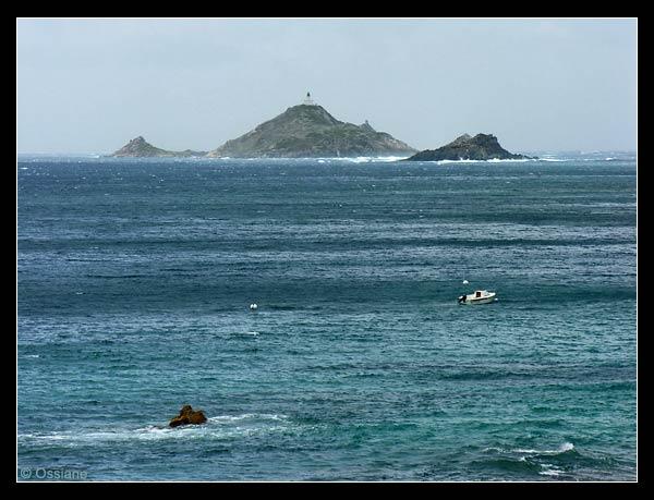 Les îles Sanguinaires