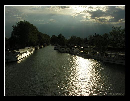 Canal du Midi à Agde