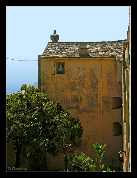 Village de Centuri dans le Cap Corse